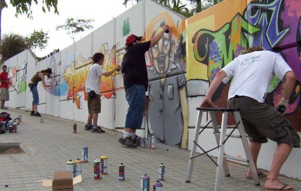 Invitan a jóvenes a concurso anual de grafiti