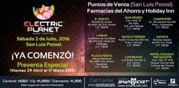 Steve Aoki, Sigala, Inna y Deoro en San Luis Potosí: Electric Planet Music Festival