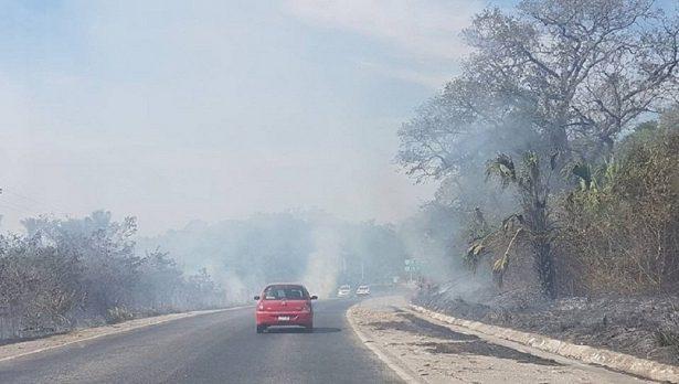 Autoridades deben sancionar a responsables de incendios forestales