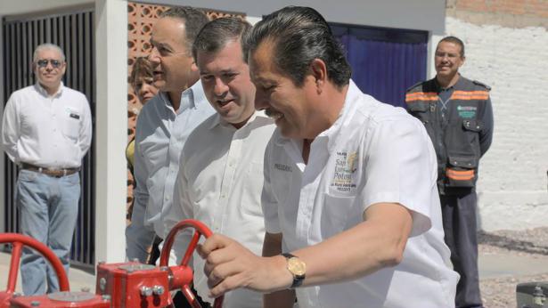 Inaugura Gallardo Juárez Pozo Las Julias II