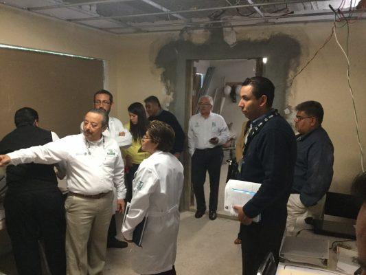 Con 13 mdp rehablitan segunda etapa  de Clínica 10 del IMSS en Matehuala