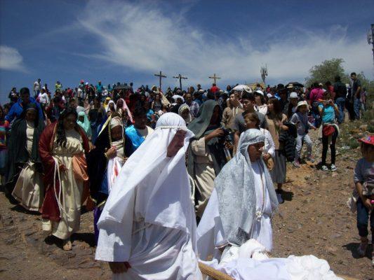 Se desborda la fe en el Altiplano con la Pasión de Cristo (FOTOGALERIA 📸)