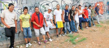 Integran pandillas, jóvenes de 15 a 24 a años