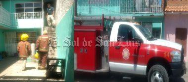 Conato de incendio en una vivienda moviliza a cuerpo de Bomberos en en colonia San Francisco