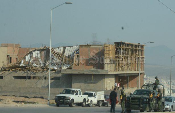 [Galería 📸] Se desploma techo de obra en Lomas del Pedregal