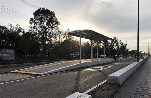 Obra de metrobús en avenida Industrias será vía blindada para motociclistas y ciclistas