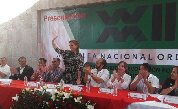 PRI requiere la confianza de la gente para seguir comprometiéndose: Ruiz Massieu