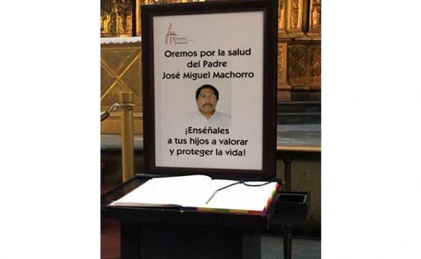 Sufre parálisis el sacerdote acuchillado en la Catedral Metropolitana
