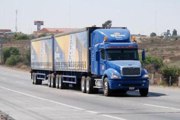 La policía vial ordenará a los vehículos de carga
