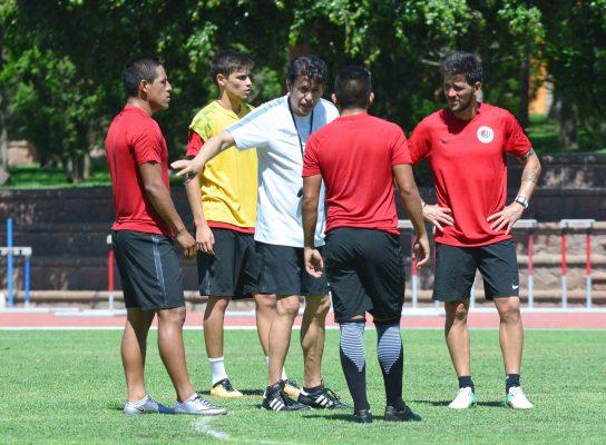 Cierra segunda semana de entrenamientos el Atlético de San Luis