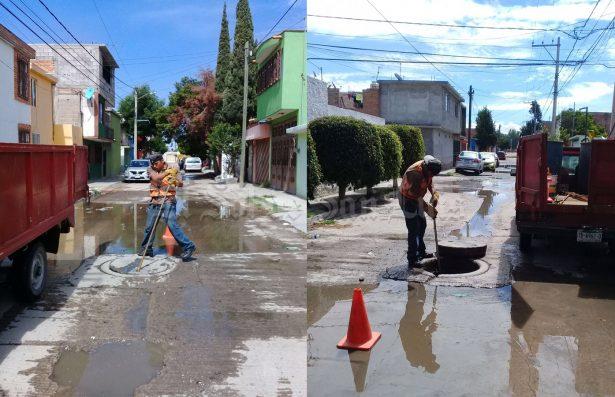 Concluyen trabajos de reparación en drenajes