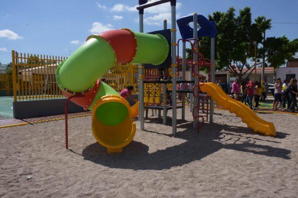 Invierte 14 mdp Ayuntamiento, en áreas recreativas