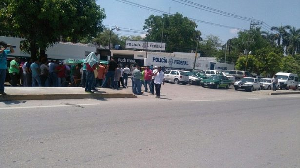 Protesta transportistas