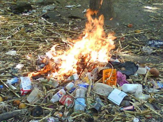 Matehuala en contingencia ambiental por descontrol en quema de basura