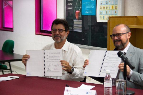 Firman convenio de colaboración el Colsan y la SECULT