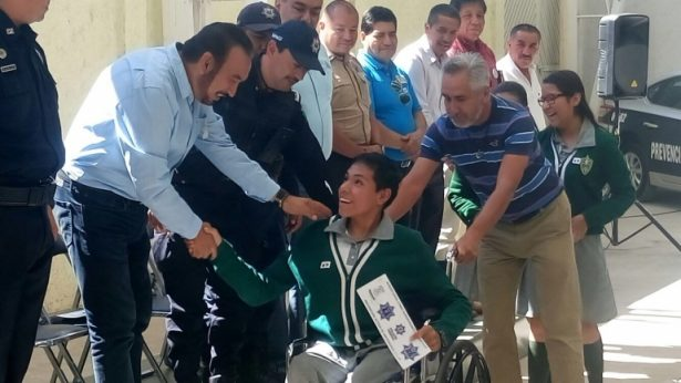 "Participa SSPE en programa ""prevenir por un Matehuala en paz""."