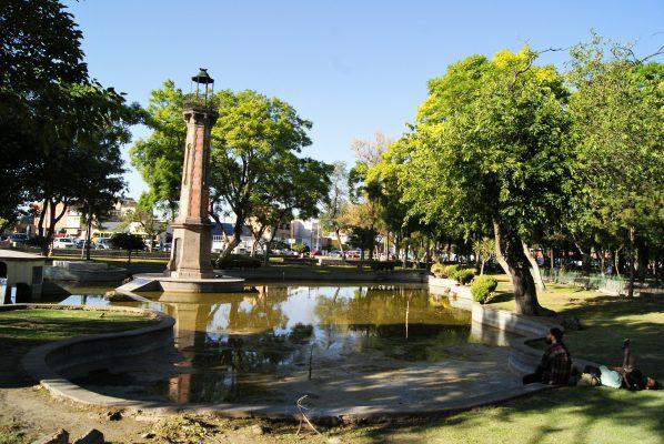 Rehabilitan los jardines emblemáticos de la ciudad