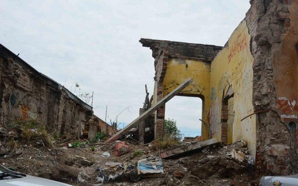 140 fincas del Centro Histórico están en riesgo de derrumbe