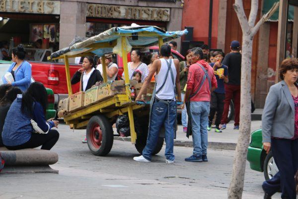 Ambulantes avalan el Tepeché