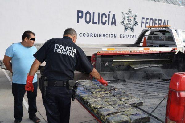 Policía Federal intercepta cristal en la carretera Valles-San Luis