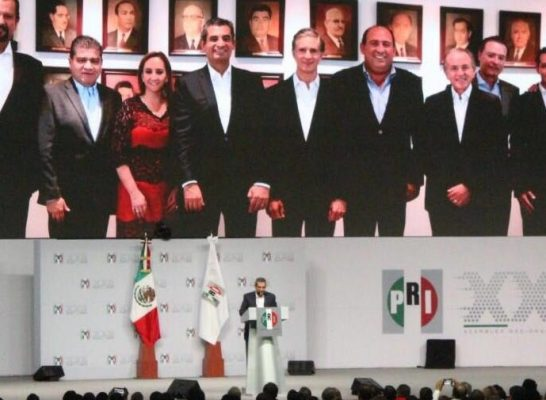 El PRI, importante actor de la historia de México: Carreras