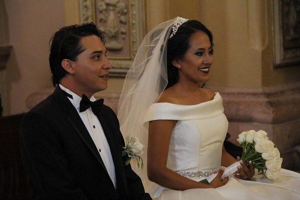 Tania y Felipe unieron sus vidas en matrimonio