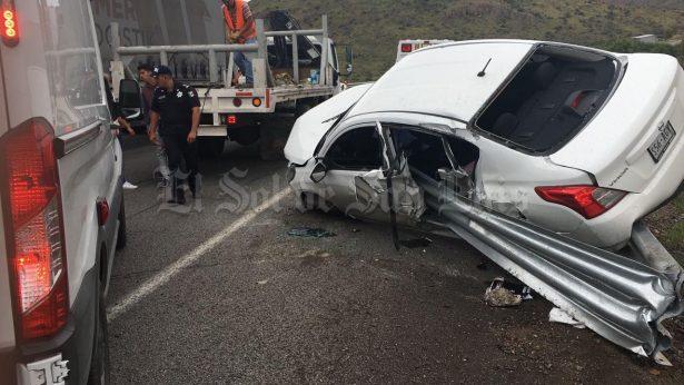 Choque en la carretera México deja una persona fallecida