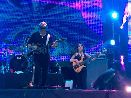 Sandoval se presentó con gran éxito en la Fenapo 2017