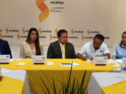 Firman convenio Cummins y Ayuntamiento de Soledad