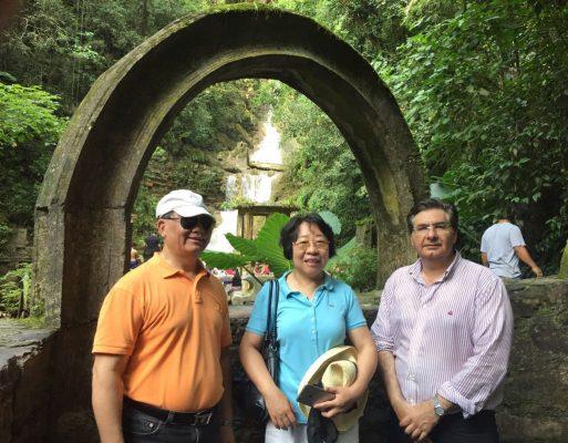 Embajador de la República China visita el pueblo mágico de Xilitla