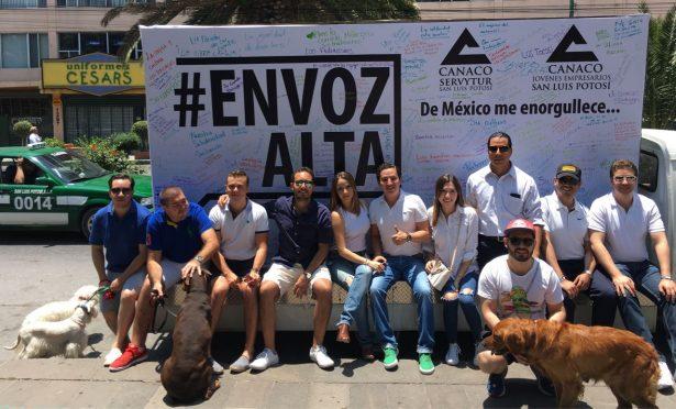 Lanzan campaña #EnVozAlta Jóvenes CANACO