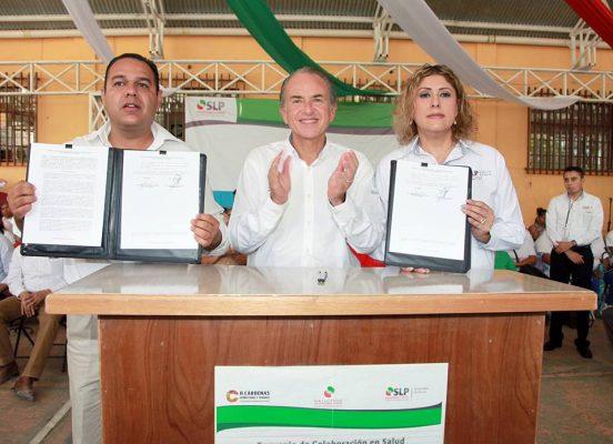Entrega el gobernador en Cárdenas obras de infraestructura por 38.8 mdp