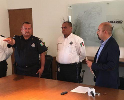 Cambian a titular de Fuerzas  Municipales de Soledad