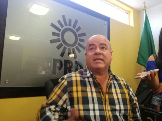 PRD Estatal donará un mes de sueldo a damnificados por sismos
