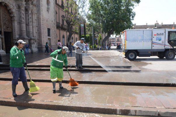 Intensifican acciones de mejora para la ciudad