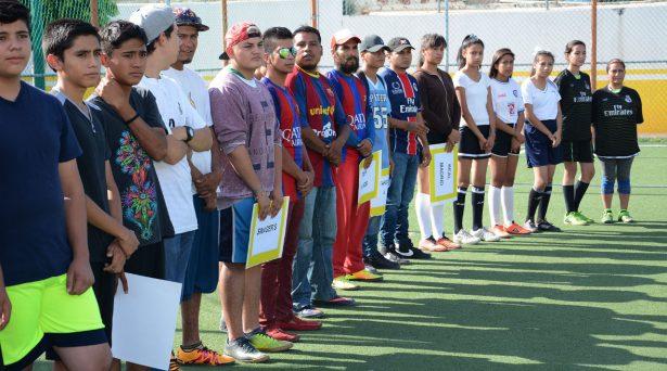 Inauguran torneos de la Liga Interdeportiva Municipal
