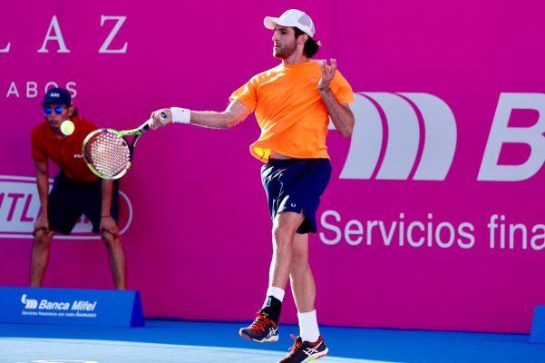Manuel Sánchez por su pase a semifinales en el ATP Los Cabos