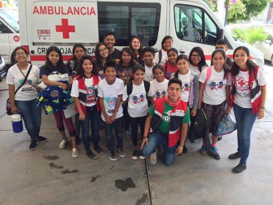 Más de 20 menores partieron al Campamento nacional de Cruz Roja
