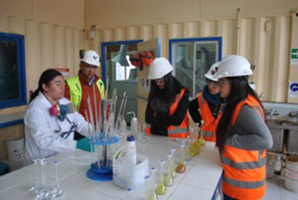 Nueve  jóvenes del altiplano al programa Escuela-Empresa