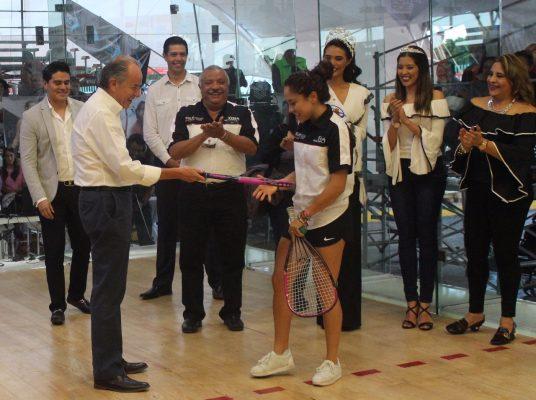Paola Longoria inicia con triunfo la temporada de la LPRT