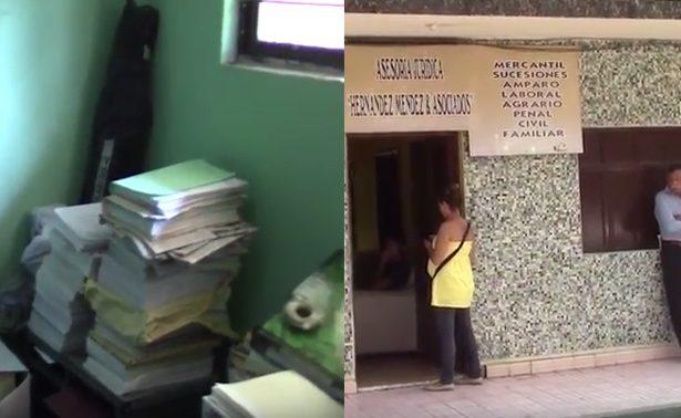 Roban oficinas de secretario de CM del PRI