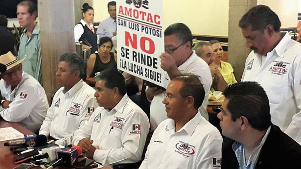 Nos preocupa inseguridad en carreteras: AMOTAC