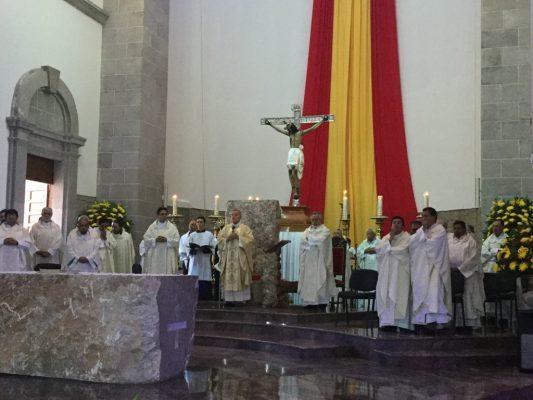 Encabeza el Arzobispo celebración del XX aniversario de la Diócesis de Matehuala