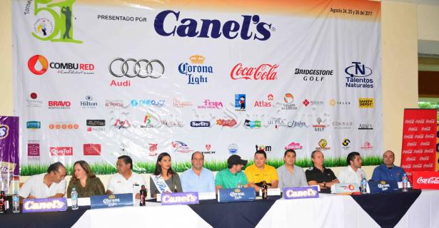 Presentan edición 51 del Torneo Anual de Golf del Club Campestre