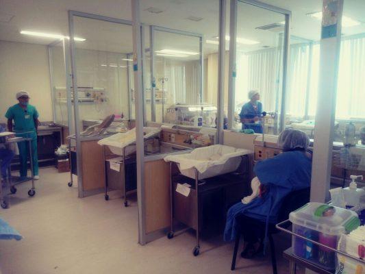 Nacen trillizas  en Hospital del  Niño la Mujer