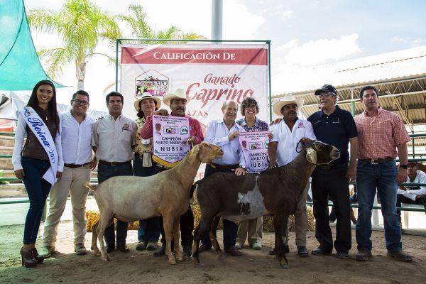 UASLP obtiene primeros lugares en Exposición Nacional Caprina de la Fenapo