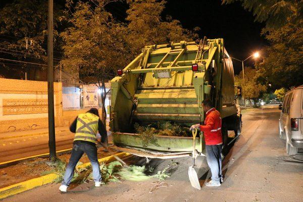 Acciones preventivas de limpieza en vialidades evitarán inundaciones en la capital