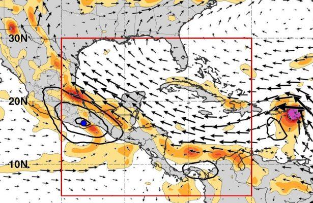 Amenaza ciclón a la Huasteca