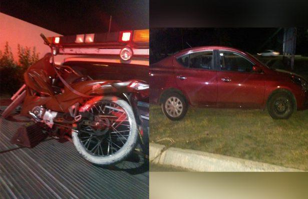 Agentes Municipales recuperan dos vehículos reportados como robados