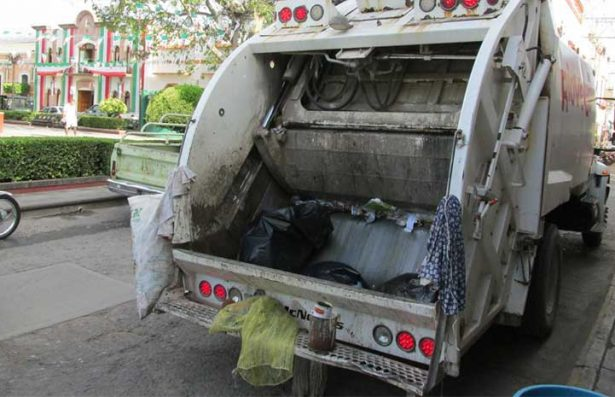 Se recolectan más de 18 toneladas diarias de basura